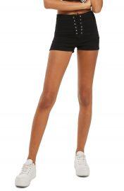 Topshop Joni Lace-Up Shorts at Nordstrom