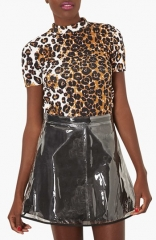 Topshop Leopard Print Top at Nordstrom