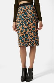 Topshop Leopard Print Tube Skirt at Nordstrom