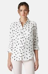 Topshop Lightning Bolt Print Shirt at Nordstrom
