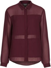 Topshop Multi Panel Shirt at Topshop