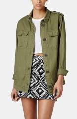 Topshop Rufus Shackett Army Jacket at Nordstrom