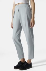 Topshop Straight Leg Crop Pants at Nordstrom