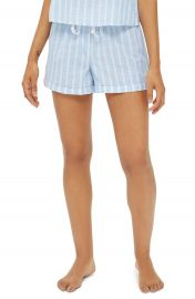 Topshop Stripe Pajama Shorts at Nordstrom