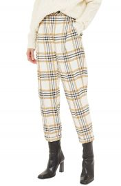 Topshop Three Button Tapered Trousers   Nordstrom at Nordstrom