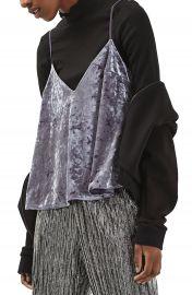 Topshop Velvet Swing Camisole at Nordstrom
