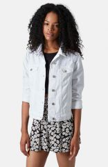 Topshop and39Tildaand39 Denim Jacket at Nordstrom