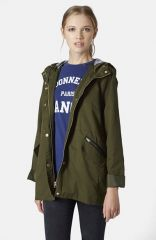 Topshop and39Verityand39 Swing Jacket at Nordstrom