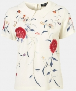 Topshop floral embroidered tee at Nordstrom at Nordstrom