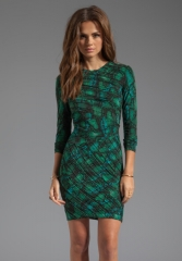 Torn by Ronny Kobo Tara Snake Dress at Revolve