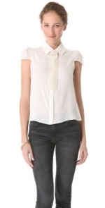 Torrey blouse by Alice and Olivia at Shopbop