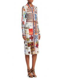 Tory Burch - Laurence Printed Shirtdress at Saks Fifth Avenue