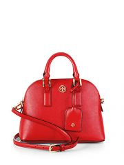Tory Burch - Robinson Mini Dome Leather Bag at Saks Fifth Avenue