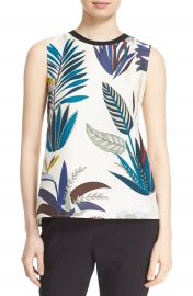 Tory Burch  Amalie  Silk Shell at Nordstrom