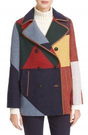 Tory Burch Cheval Colorblock Peacoat at Nordstrom