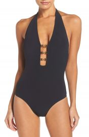 Tory Burch Gemini Link One-Piece Swimsuit at Nordstrom