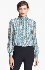 Tory Burch Jasmine Silk Top at Nordstrom