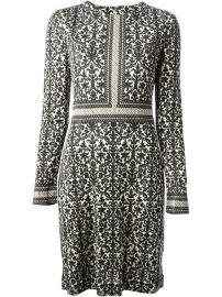 Tory Burch Ornament Print Dress - Parisi at Farfetch