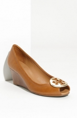 Tory Burch Sally 2 Peep Toe Wedge Pump at Nordstrom