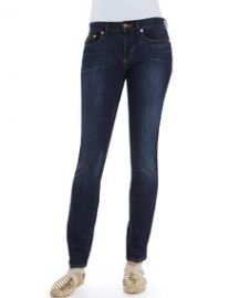 Tory Burch Skinny Basic Low-Rise Jeans at Neiman Marcus