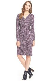 Tory Burch Twist Print Silk Dress at Nordstrom