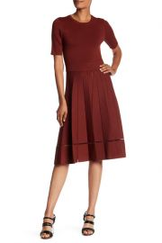 Tracy Pleated Knit Dress by A.L.C. at Nordstrom Rack