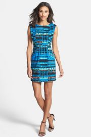 Tracy Reese Tapestry Print Dress at Nordstrom Rack