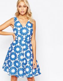 Traffic People  Traffic People Send Me No Flowers Lets Dance Dress In Floral Crochet at Asos