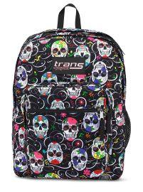 Trans by Jansport 17 SuperMax Backpack - Sugar Skulls at Amazon