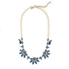 Translucent flower necklace at J. Crew
