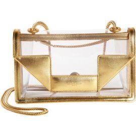 Transparent Mini Betty Bag by Saint Laurent at Barneys