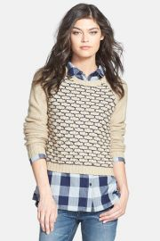 Treasure Bond Box Stitch Sweater at Nordstrom Rack