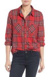 Treasure Bond Plaid Shirt at Nordstrom