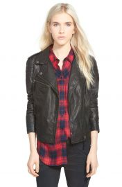 Treasure and Bond Leather Moto Jacket at Nordstrom