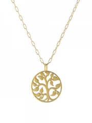 Tree of Life Necklace at Peggy Li