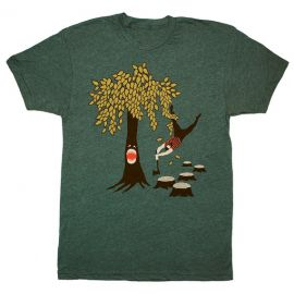 Tree vs Lumberjack Tshirt at Etsy