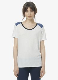 Tri Colorblock Tee at Vince