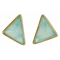 Triangle Studs at Margaret Elizabeth