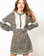 Tribal Grunge dress by Free People at ASOS at Asos