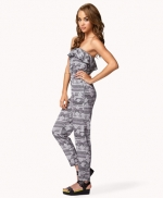 Tribal print jumpsuit at Forever 21 at Forever 21