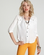 Tribe and True top by Free People at Bloomingdales