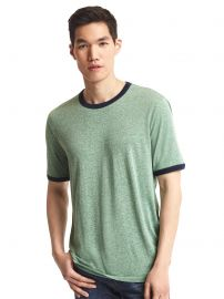 Triblend tee in Green at Gap