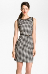 Trina Turk Mirren Chain Trim Sheath Dress at Nordstrom