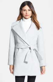 Trina Turk and39Beverlyand39 Wool andamp Cashmere Wrap Coat at Nordstrom