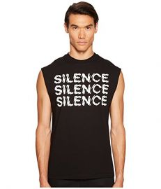 Triple Silence Sleeveless Tee by Alexander McQueen at 6PM