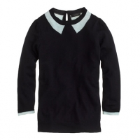 Trompe L Oeil Sweater at J. Crew