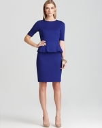 Trophie peplum dress by Trina Turk at Bloomingdales at Bloomingdales