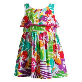 Tropical Floral Knit Sundress at Kohls