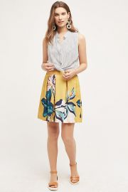Tropicale Skirt at Anthropologie