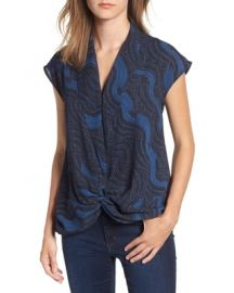 Trouv   Twist Front Knot Top   Nordstrom at Nordstrom